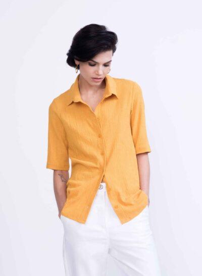 חולצה | SPICE | צהוב כרכום