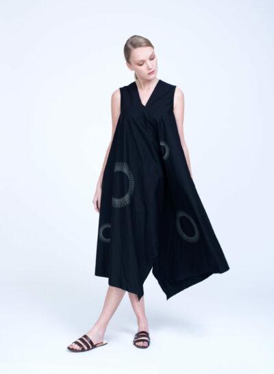 שמלה | COMFORT ZONE | שחור