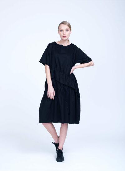 שמלה | PEONY | שחור