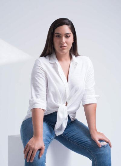 חולצה | CAMELIA | לבן