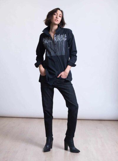 חולצה | OASIS | שחור | PreOrder