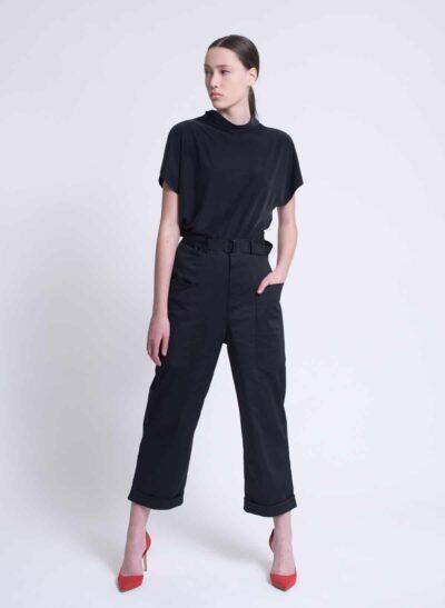 מכנסיים | OLIVER | שחור