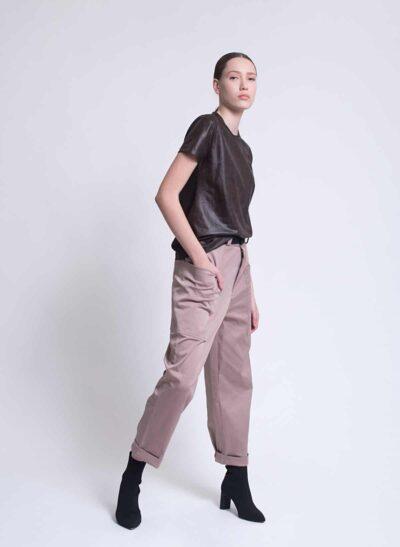 מכנסיים | OLIVER | חום | PreOrder