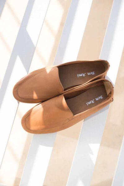 נעליים | מוקסין | קאמל