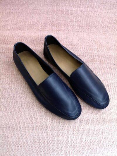 נעליים | מוקסין | כחול