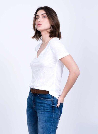 חולצה | APPLE S/20 | לבן | PreOrder
