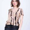 חולצה | APPLE S/20 | חום | PreOrder