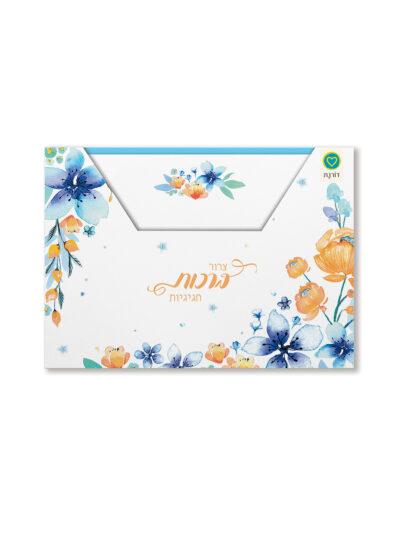 מארז כרטיסי ברכה | שרי 2 | כחול