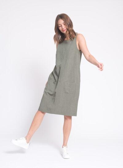 שמלה   ASIA   זית   PreOrder
