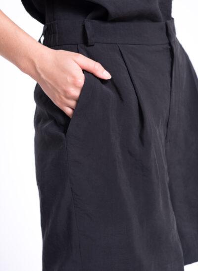 מכנסי ברמודה | GABRIEL | שחור | PreOrder