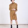 שמלה | NINA | חרדל