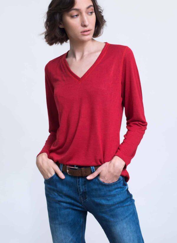 חולצה   STAV   אדום