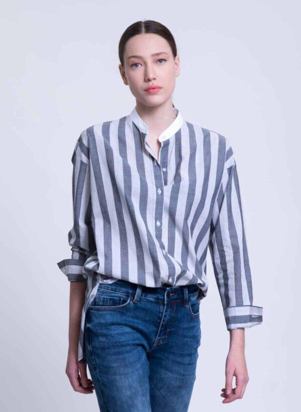 חולצה | JOANNE | אפור | PreOrder