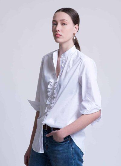 חולצה | ANICE | לבן | PreOrder