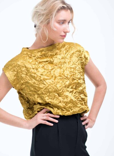 חולצה | JEMMA | זהב | PreOrder