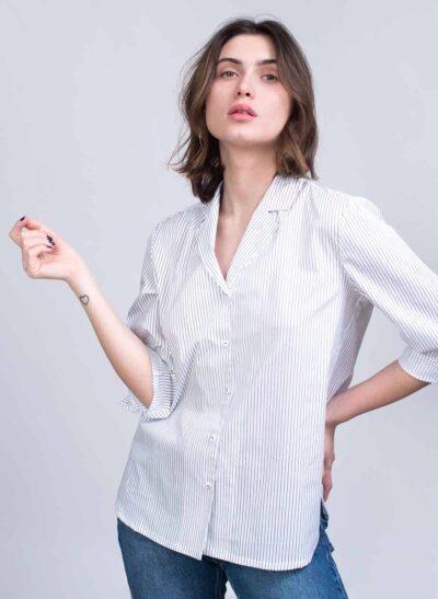חולצה | MARSEILLE | פס צר | PreOrder