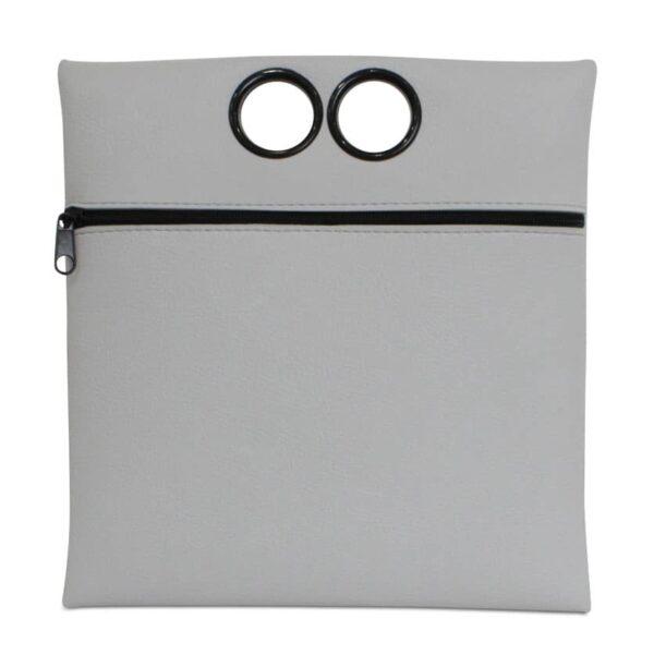 תיק | תיק קלאסי ריבועי HAMPI | אפור