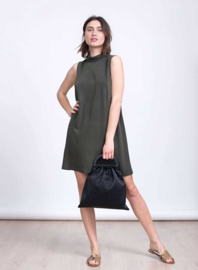 שמלה | NICOLA | זית