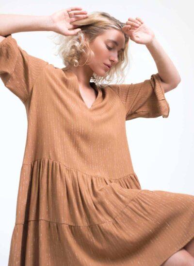 שמלה | LUNA | מייפל