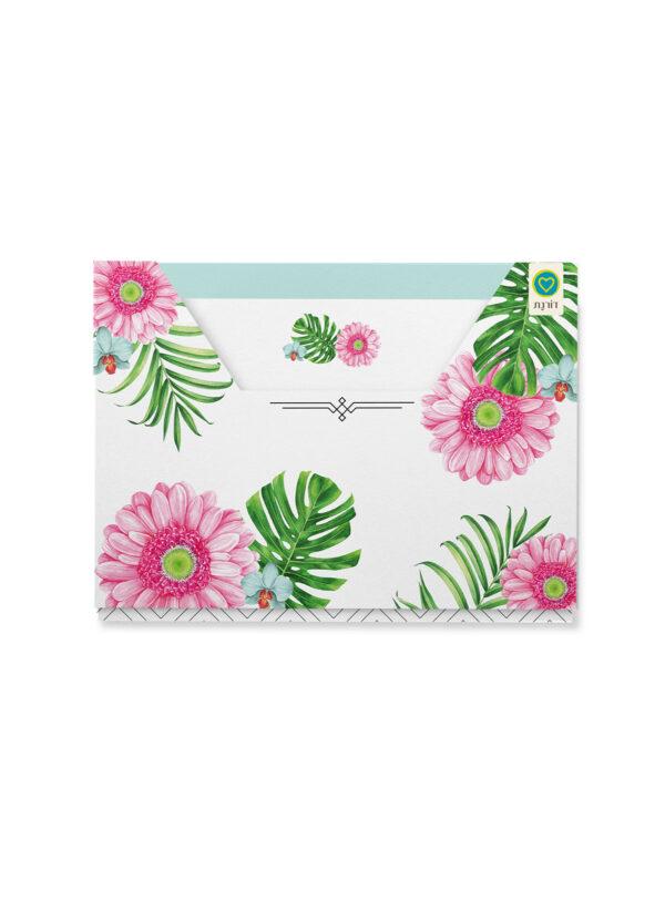 מארז כרטיסי ברכה   פרחים