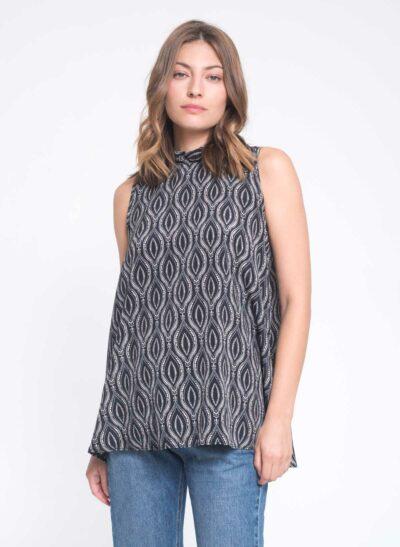 חולצה | YAEL S/20 | הדפס ברוק